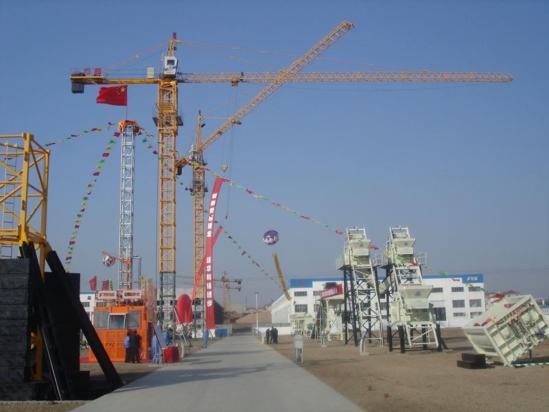 中联重科TC6015A-10E塔式起重机租赁