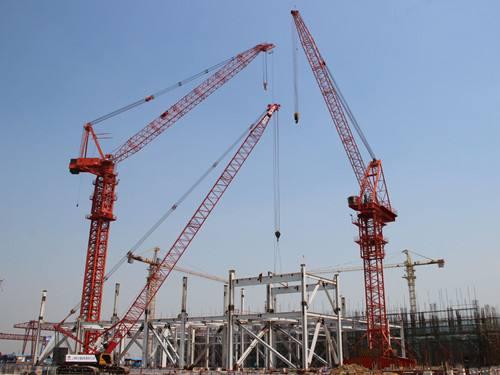 中联重科TCR6030-16(L250-16)动臂塔吊租赁