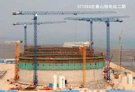 秦山核电站塔吊租赁